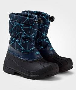 Reima Unisex Childrens Shoes Boots Navy Nefar Winter Boots Navy