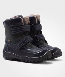 Bisgaard Unisex Boots Tex Boots Wool Lining Blue