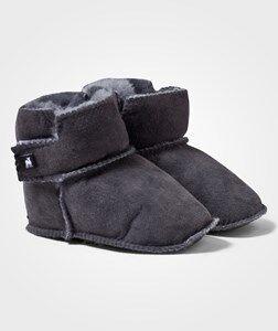 Shepherd Unisex Childrens Shoes Boots Grey Borås Slippers Asphalt