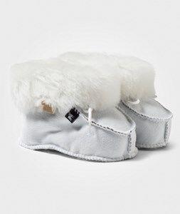Shepherd Unisex Childrens Shoes Boots White Gävle Slippers Nature
