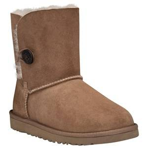 UGG Unisex Childrens Shoes Boots Brown Bailey Button Chestnut Big Siz