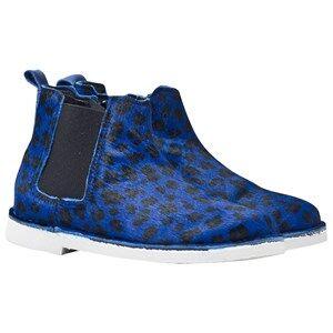 Rainbow & Snow Unisex Childrens Shoes Sneakers Blue Chelsea Pony Animal Shoes Jaguar Blue