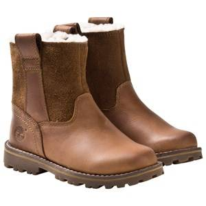 Timberland Unisex Boots Brown Junior Asphalt Chestnut Ridge Light Brown