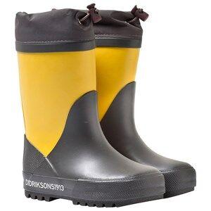 Didriksons Unisex Childrens Shoes Boots Yellow Slush Kid