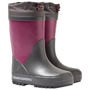Didriksons Unisex Childrens Shoes Boots Purple Slush Kid