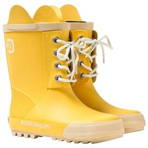 Didriksons Unisex Childrens Shoes Boots Yellow Splashman Kid