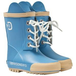 Didriksons Unisex Childrens Shoes Boots Blue Splashman Kid