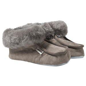 Shepherd Unisex Childrens Shoes Slippers Grey Osby Slippers Stone