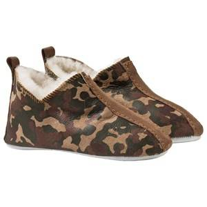 Shepherd Unisex Childrens Shoes Slippers Brown Viared Slippers Camouflage