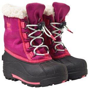 Sorel Girls Childrens Shoes Boots Pink Childrens Cumberland™ Boots Deep Blush