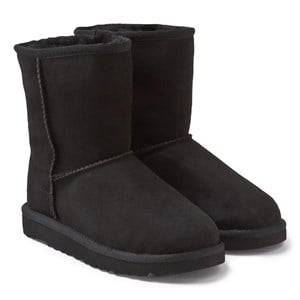 UGG Unisex Childrens Shoes Boots Black Classic Black