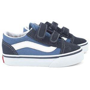 Vans Unisex Childrens Shoes Sneakers Navy Old Skool V Navy