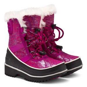 Sorel Girls Childrens Shoes Boots Pink Children