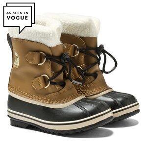 Sorel Unisex Childrens Shoes Boots Beige Yoot Pac™ TP Boots Mesquite