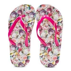 Molo Unisex Sandals Multi Zeppo Flip Flops Seashell