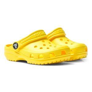 Crocs Unisex Sandals Yellow Yellow Classic Clogs