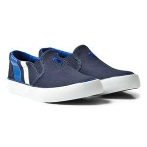 Ralph Lauren Boys Shoes Navy Navy Paxon Slip Ons