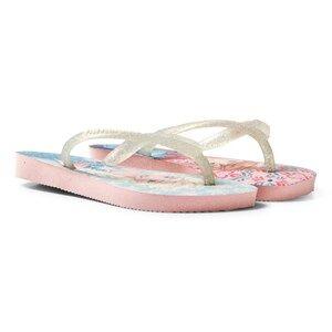 Havaianas Girls Sandals Multi Kids Slim Frozen Sandal Pearl Pink