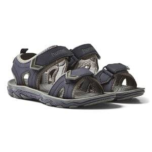 Hummel Boys Sandals Navy Sandal Sport Jr Total Eclipse