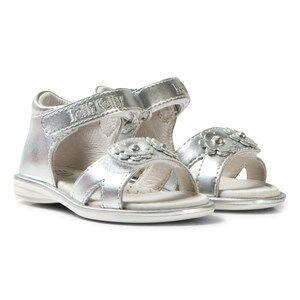 Lelli Kelly Girls Sandals Silver Silver Sabrina Floral Sandals