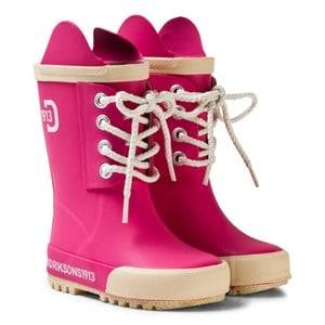 Didriksons Unisex Boots Pink Splashman Kid