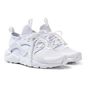 NIKE Boys Sneakers White Huarache Run Ultra Sneakers White