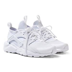 NIKE Boys Sneakers White Huarache Run Ultra Sneakers White