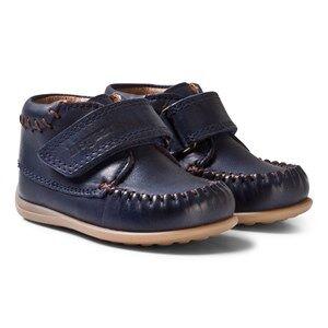 Bisgaard Unisex Shoes Blue Prewalker Navy