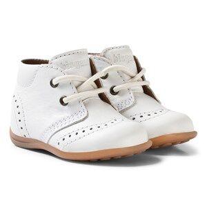Bisgaard Girls Shoes White Prewalker White