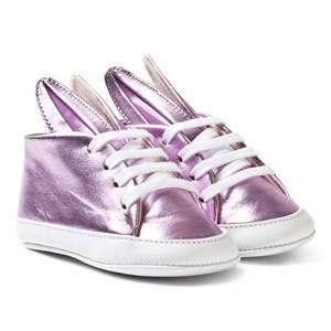 Image of Minna Parikka Girls Sneakers Pink Pink Metallic Baby Bunny Trainers