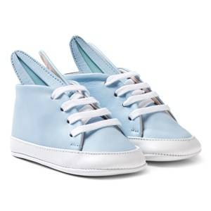 Image of Minna Parikka Girls Sneakers Blue Pale Blue and White Baby Bunny Trainers
