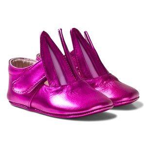 Image of Minna Parikka Girls Sneakers Pink Fuchsia Baby Bunny Ballerina Trainers