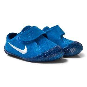NIKE Boys Sneakers Blue Waffle 1 Crib Shoes Blue