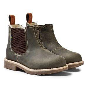 Kavat Unisex Boots Green Brändås EP Khaki