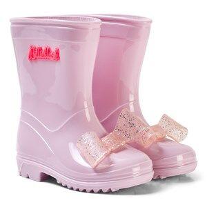 Billieblush Girls Boots Pink Pink Bow Rain Boots