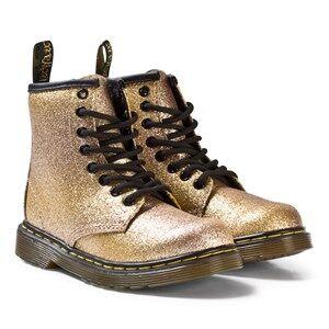 Dr. Martens Girls Boots Gold Gold Glitter Delaney Boots