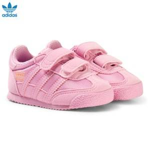 adidas Originals Girls Sneakers Pink Pink Infants Dragon Trainers