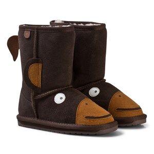 Emu Australia Unisex Boots Brown Little Creatures Monkey Boots