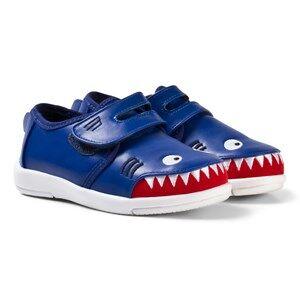 Emu Australia Boys Sneakers Blue Little Creatures Shark Sneakers
