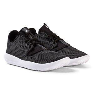 Air Jordan Boys Sneakers Black Black and White Jordan Eclipse Shoe