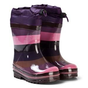 Molo Unisex Boots Blue Sejer Rubber Boots Huckleberry Stripe