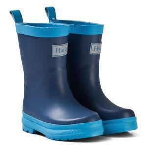 Hatley Boys Boots Navy Navy Classic Rain Boots