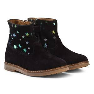 Pom Dapi Girls Boots Black Trip Boots Noir
