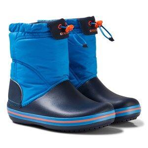 Crocs Unisex Boots Blue Crocband LodgePoint Boot K Ocean/Navy