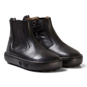 Pom Dapi Girls Boots Black Walk Jodpur Basic Black