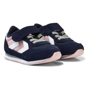 Hummel Unisex Sneakers Pink Reflex Infant Trainers Pale Mauve