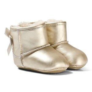 UGG Girls Boots Gold Gold Jesse Bow II Metallic