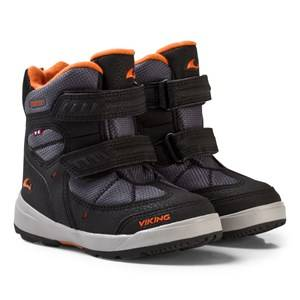 Viking Unisex Shoes Black Toasty II Gtx Boots Black/Orange