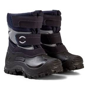 Mikk-Line Unisex Boots Blue Winter Boots Dark Marine