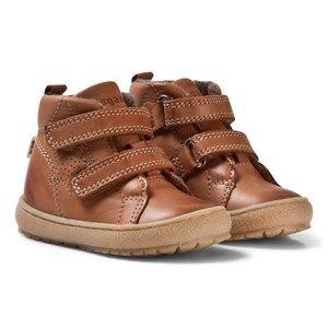 Bisgaard Unisex Boots Brown Boots Cognac